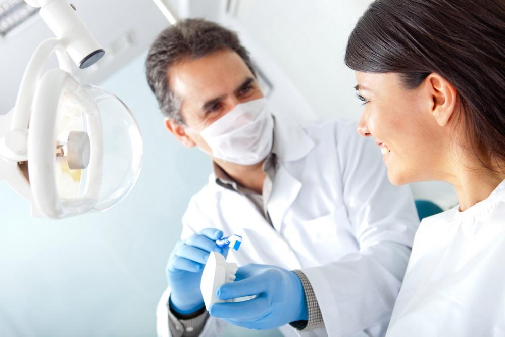 Лечение зубов под микроскопом - фото